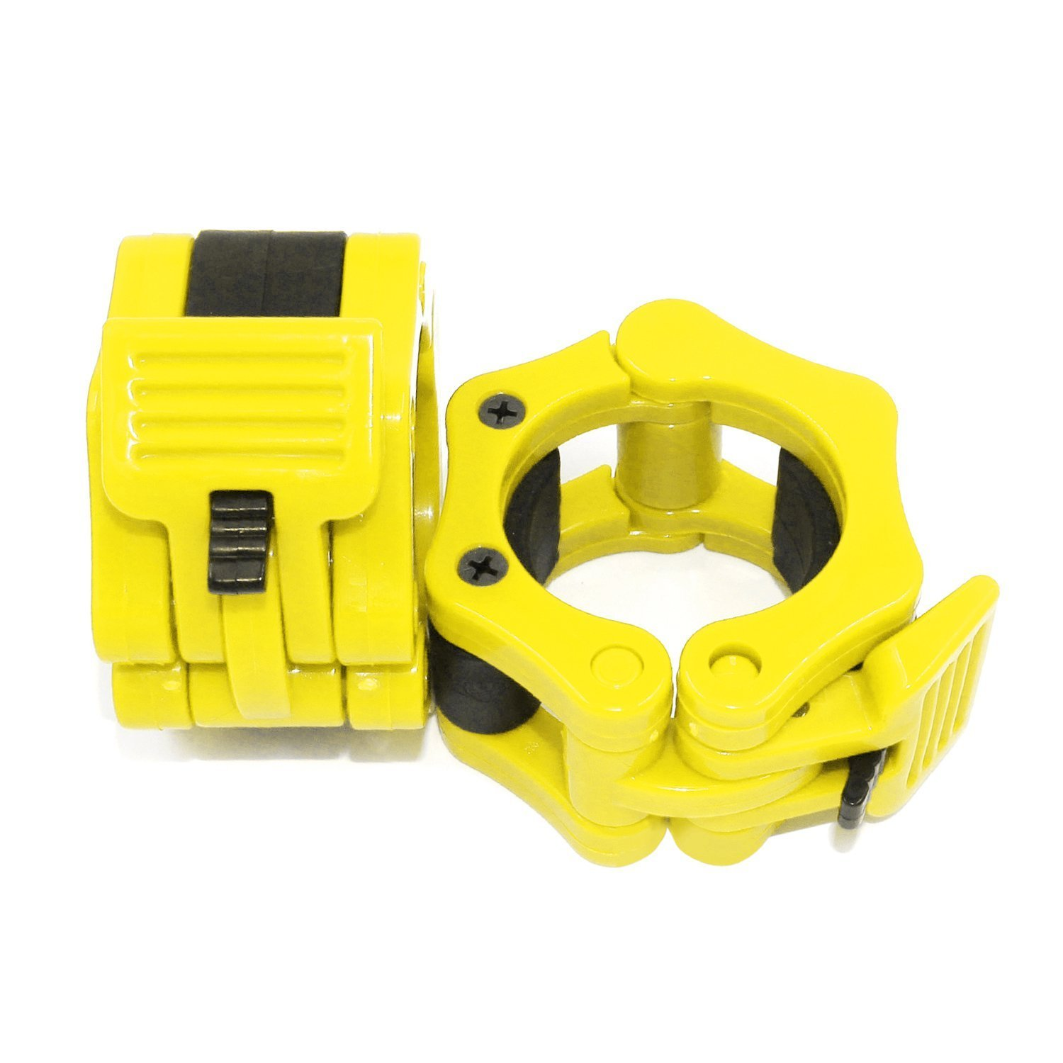 2PCS Olympic Dumbbell Barbell Bar Lock Spinlock Collar Weight Clamps Gym Fitness