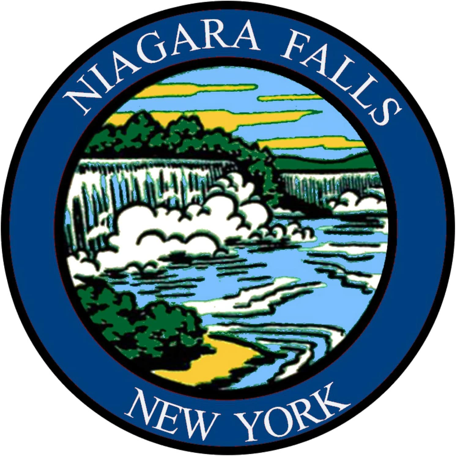 Parche bordado «Explore Niagara Falls» de 3 pulgadas, para ...