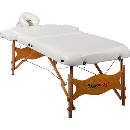 Movit Lettino Da Massaggio Deluxe Xxl 80 Cm Di Larghezza Con
