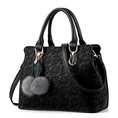 Bolsas Femininas, Women Leather Top Handle Satchel Handbags ...