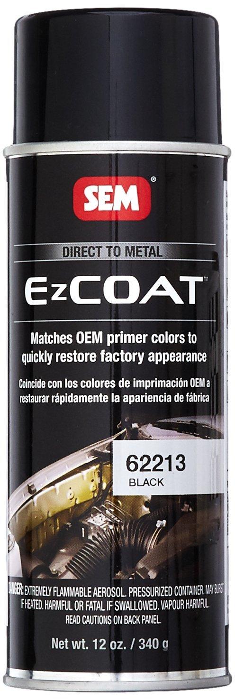SEM 62213 Black Ez Coat - 12 oz.