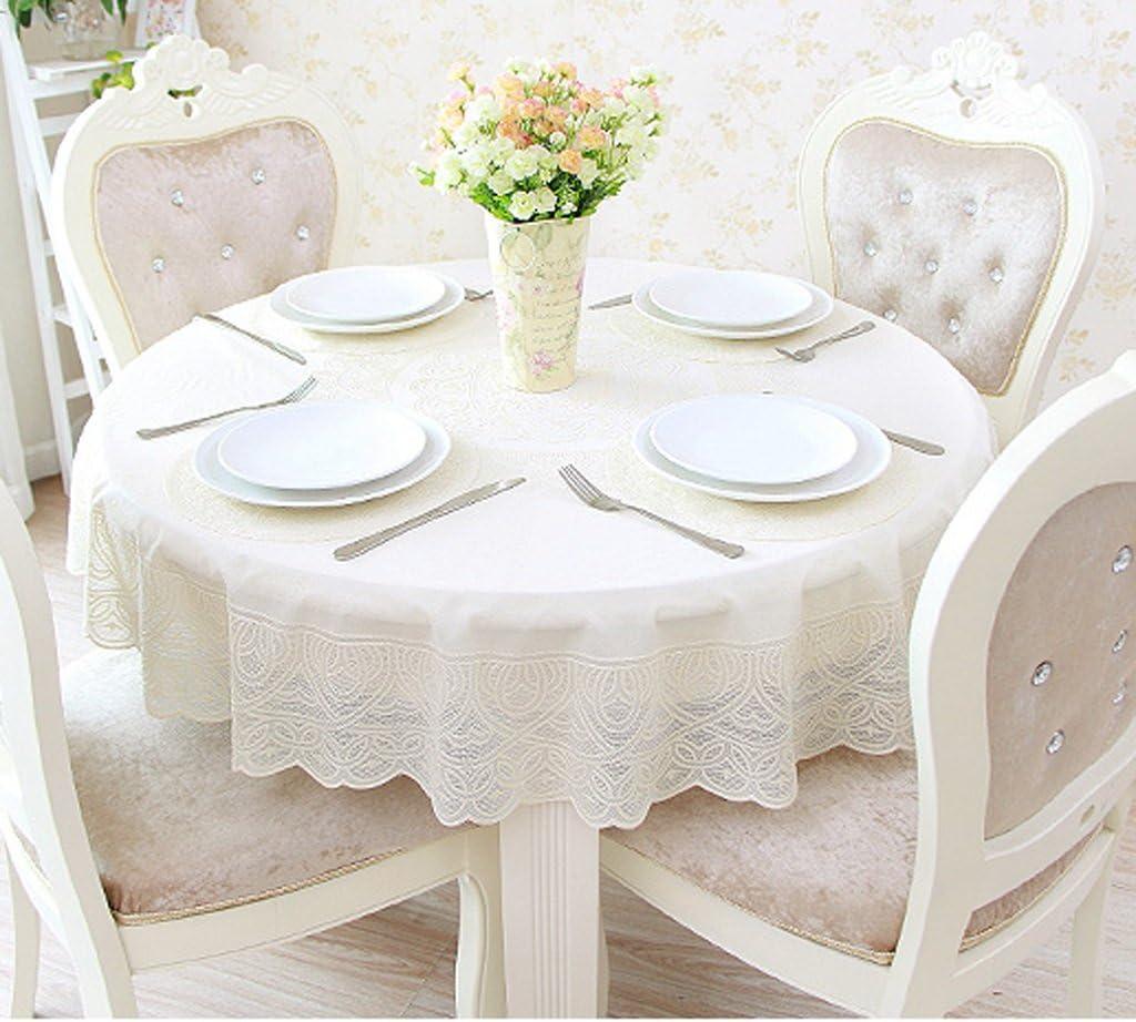 Max Home@ PVC Europea hule impermeable mesa redonda de comedor ...