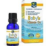 Nordic Naturals Baby's Vitamin D3, Unflavored - 400 IU Vitamin D3 - 0.37 oz - Healthy Bones, Immune System Support…