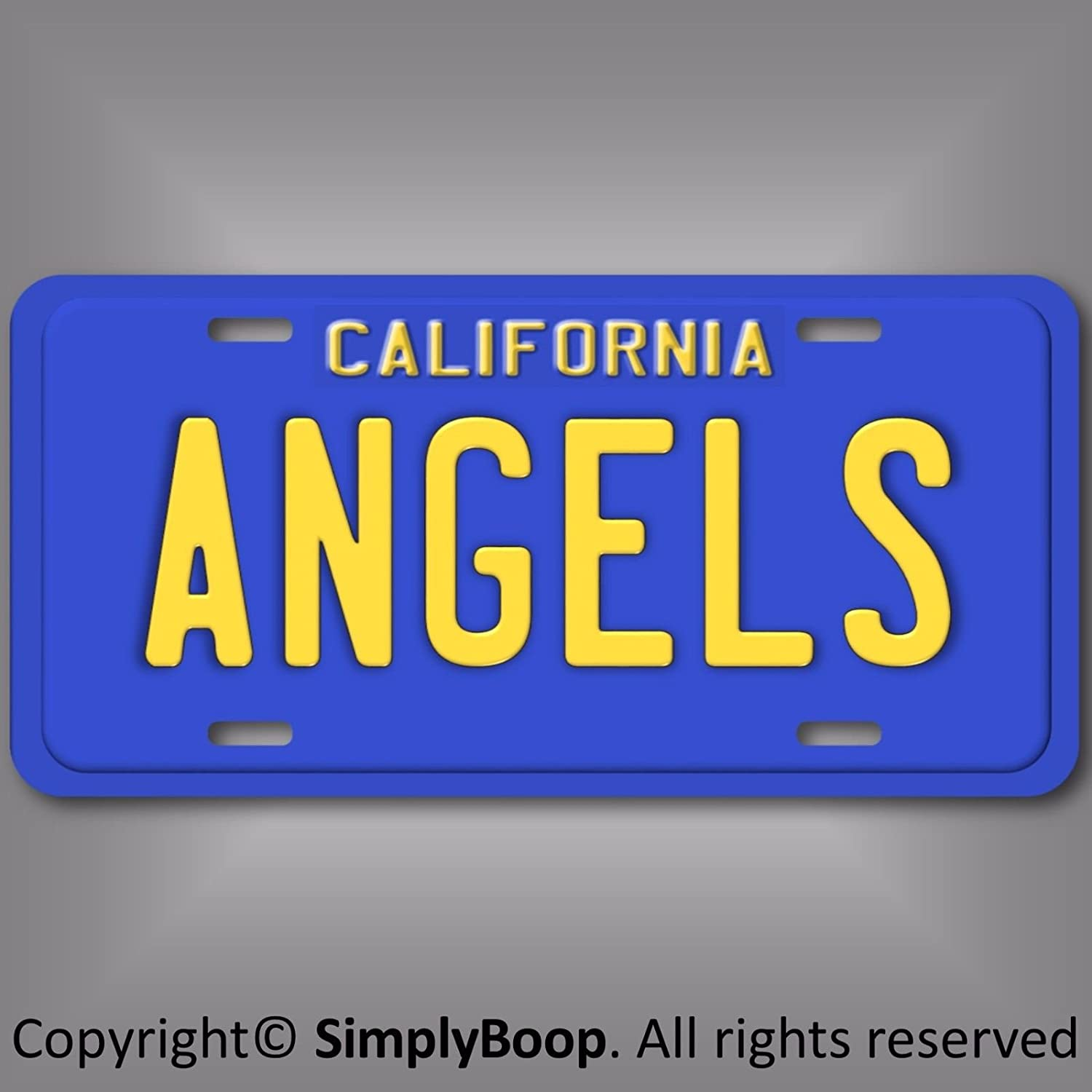 Forever Signs Of Scottsdale Los Angeles California Dodgers Baseball Team License Plate Tag Gift Dad New