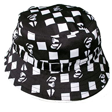 d2cdcaa1ccf Image Unavailable. Image not available for. Colour  Warrior Adults Ska Man  Bucket Hat Reversible Two Tone