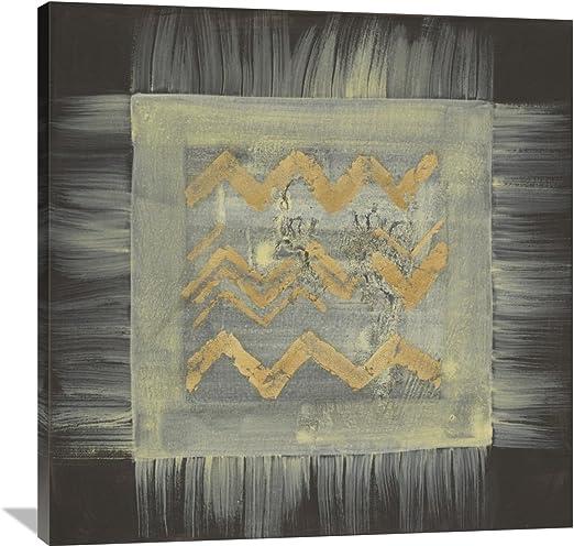 Global GalleryAlbena Hristova Gold Tapestry VI Giclee Stretched Canvas Artwork 30 x 30