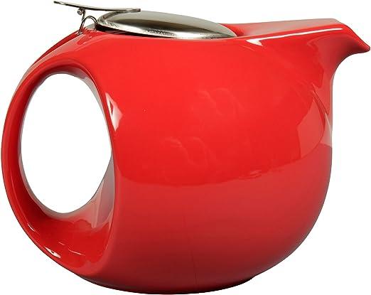 16 x 10 x 12 cm Sema Tetera Cer/ámica Rojo