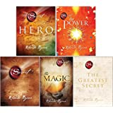 Rhonda Byrne The Secret Series 5 Books Collection Set (Hero, The Power, The Secret, The Magic [Paperback], The Greatest Secre