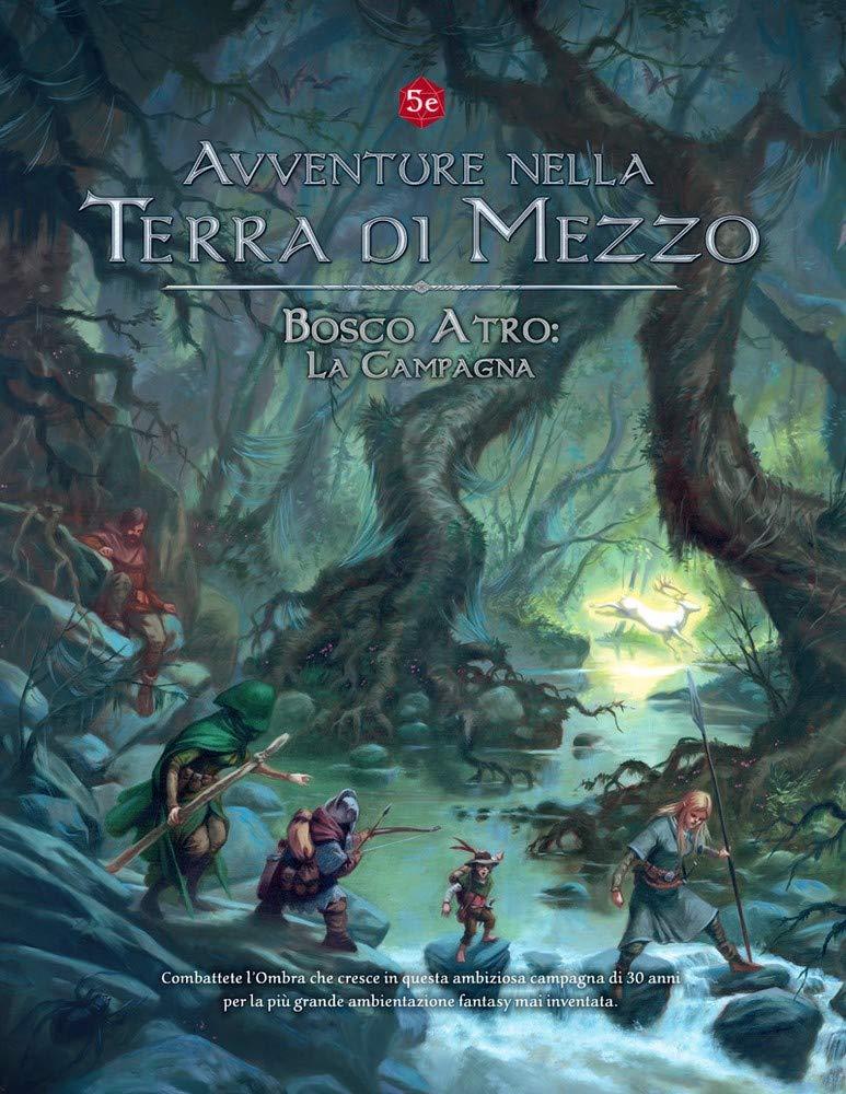 Need Games Avventure nella Terra di Mezzo Bosco ATRO LA Campagna Espansione Gioco di Ruolo in Italiano