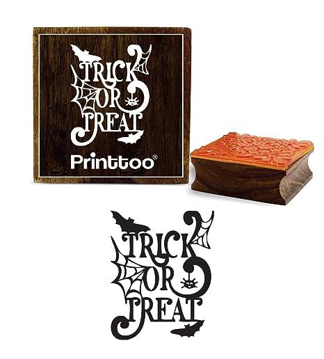 Amazon.com: Printtoo - Agenda cuadrada de madera con sello ...