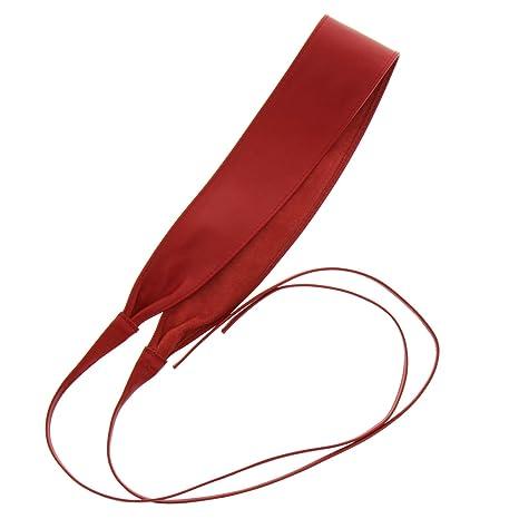 FASHIONGEN - Ceinture Obi véritable cuir d Italie CASSIANE  Amazon.fr   Vêtements et accessoires 3bfa8ec0d42