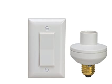 wireless remote control light switch and socket cap to turn lamps
