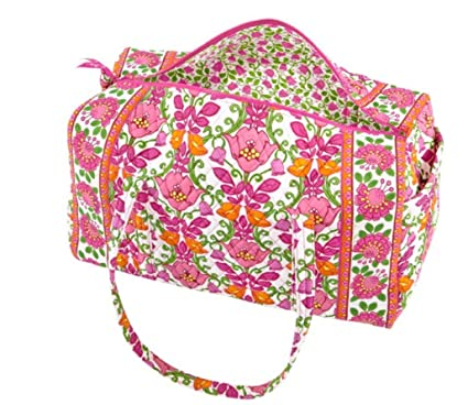 Image Unavailable. Image not available for. Color  Vera Bradley Large  Duffel in Lilli Bell 76f79e5ee948d