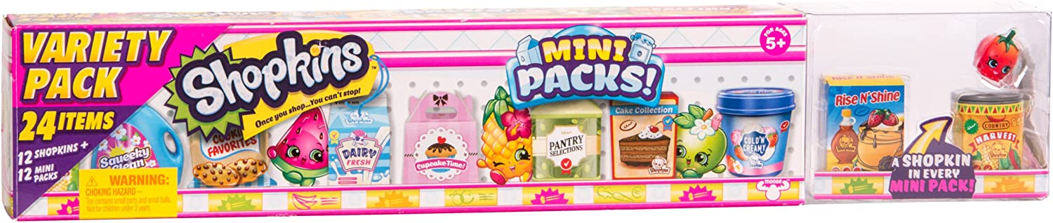 Shopkins Season 10 Mini Pack - Mega Pack (24 Items)