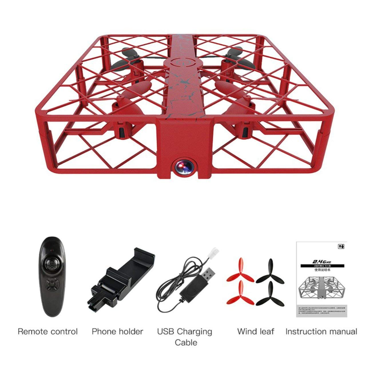 Liobaba SG500 Mini RC Drone WiFi Remote Quadcopter 720P HD 2MP Camera Wide Angle Lens 4CH Altitude Hold Headless Mode Helicopter