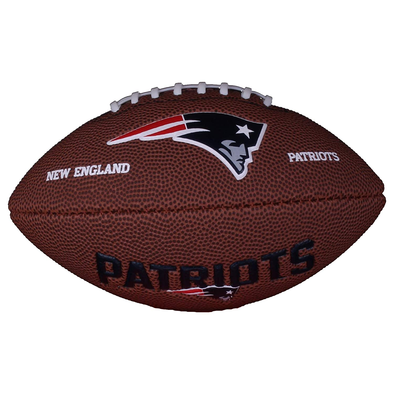 Wilson NFL Mini Patriots Logo Football ballon de football américain taille MINI