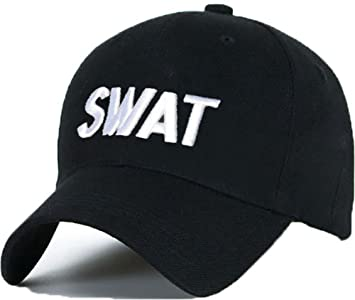 Casual Cotton Baseball Cap SWAT hat hats caps adjustable Snapback LA ... 1c25f1ab42f