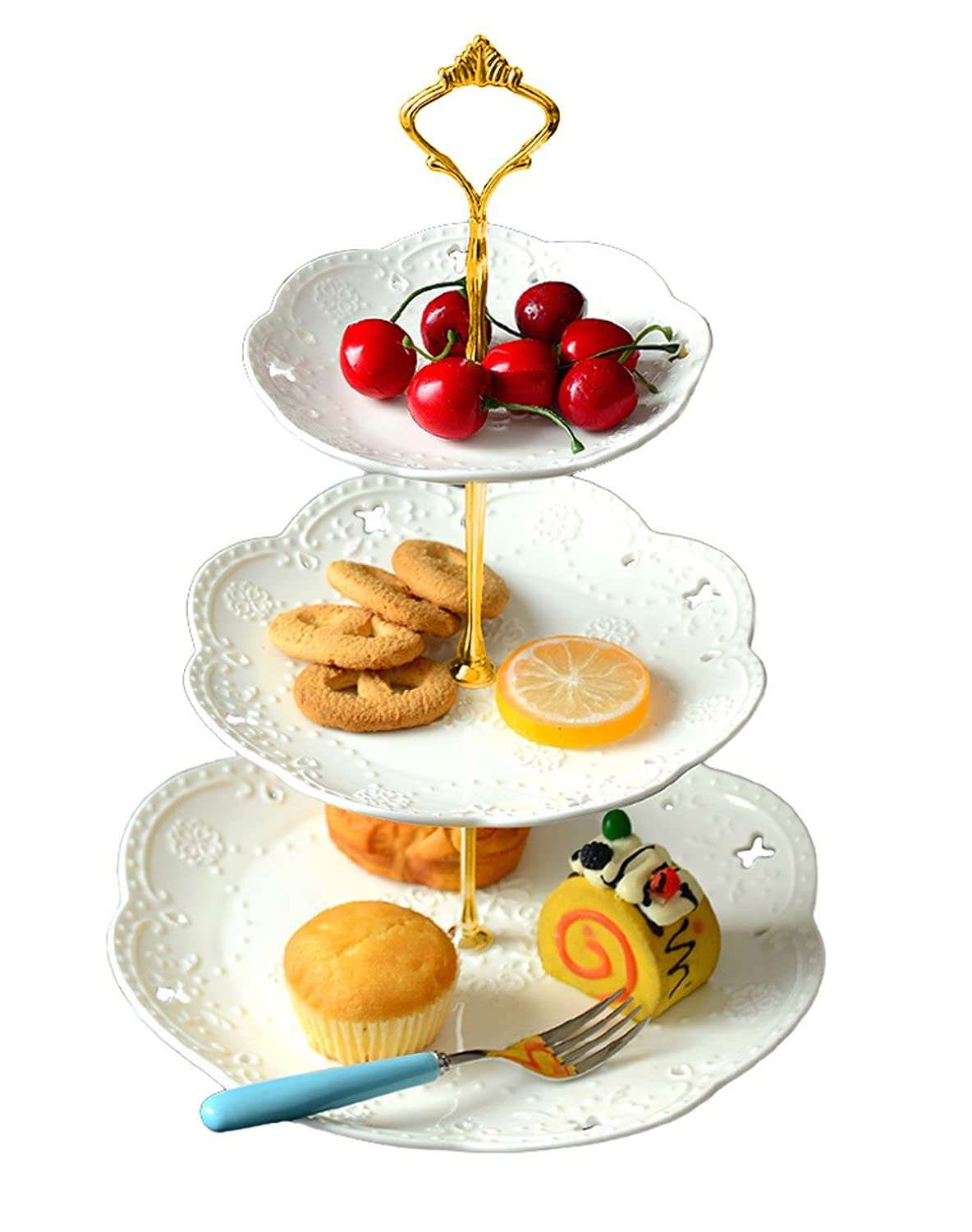 Christmas Cake Stands And Platters