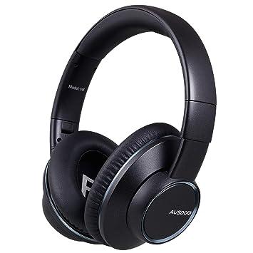 Ausdom H8 Auriculares bluetooth 4.1 EDR con micrófono, batería recargable de 360 mAh y Share Me, ideal para compartir la música, recibir llamadas y jugar ...