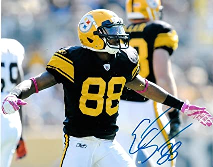 259e9064d Emmanuel Sanders Pittsburgh Steelers Autographed Signed 8x10 Photo -  Certified Authentic