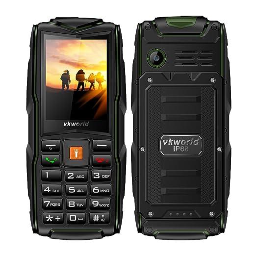 2 opinioni per Telefono Cellulare,VKworld Stone V3 Robusto Telefonia Mobile con Grandi Tasti