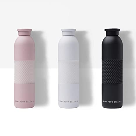 4993be3195 Lokai Metal Water Bottle Black- Sleek, Sustainable Water Bottle, 19 oz,  Stainless Steel with a Textured Grip: Amazon.com.au: Sports, Fitness &  Outdoors