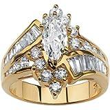 SXFSE Luxury and Shining Fashion Hand Jewelry Cut Diamond Engagement Anniversary Ring Jewelry