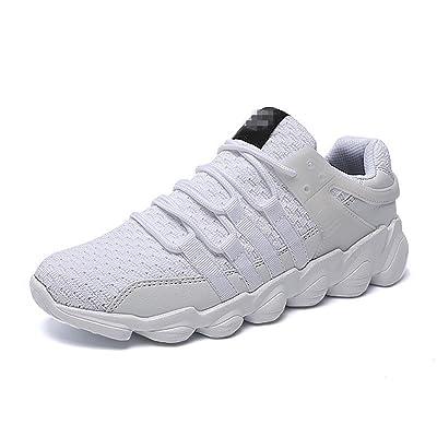 Botia Homme Randonnée Chaussures Running Sneakers Lace Up Mesh Chaussures de Sport Soft Light Running Shoes