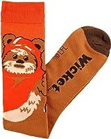 Star Wars Wicket Ewok Junior/Women's Knee High Socks Shoe Size 4-10 Brown
