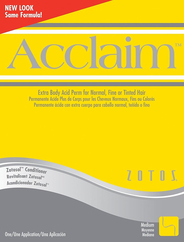 Zotos Acclaim Extra Body Acid Perm 40718