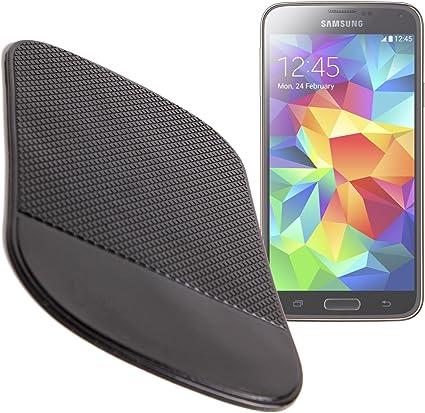 DURAGADGET Tapete Anti-Deslizante De Silicona Compatible con Samsung Galaxy S5 SM-G900F / K Zoom Ideal para Coche: Amazon.es: Electrónica