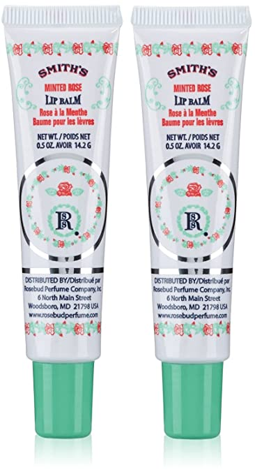 Rosebud Perfume Co. - Smiths Lip Balm Brambleberry Rose - 0.8 oz. (pack of 2) (6 Pack) SALLY HANSEN Moisture Twist 2-in-1 Primer + Color - Cherry Twist