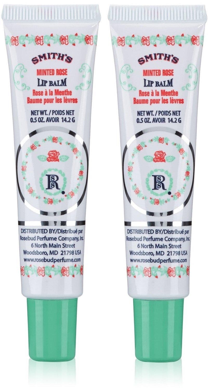 Minted Rose Lip Balm by Rosebud Perfume Co. #8