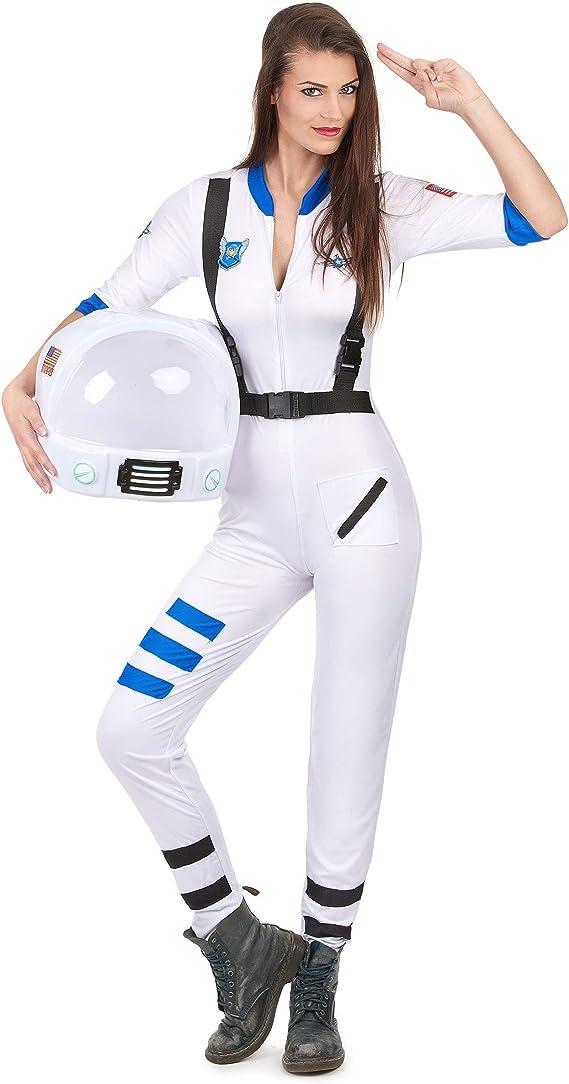 Generique - Disfraz Astronauta Mujer M/L: Amazon.es: Juguetes y juegos