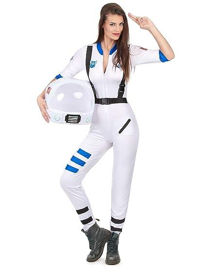 Disfraz astronauta mujer: Amazon.es: Juguetes y juegos