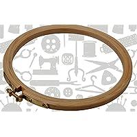 Jyoti Round Wooden Hoop -8 inch