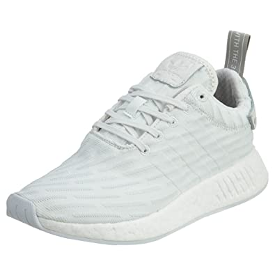 adidas Women's NMD_R2 Primeknit Running Shoes in Vintage White, ...