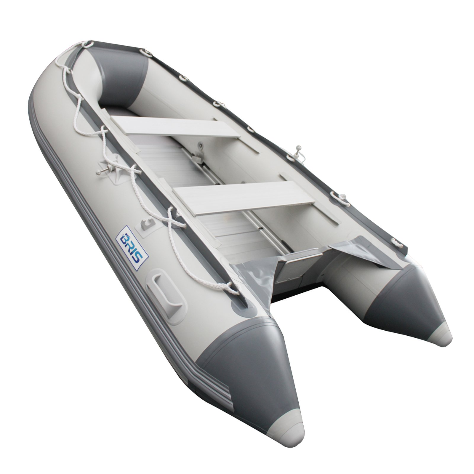 BRIS 9.8 ft Inflatable Boat Inflatable Dinghy Boat Yacht Tender Fishing Raft by Bris Boat
