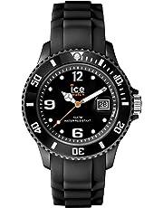 Ice-Watch - ICE forever Black - Montre noire mixte avec bracelet en silicone