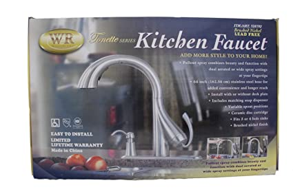 Water Ridge Tonette Series Kitchen Faucet - Touch On Kitchen Sink ...