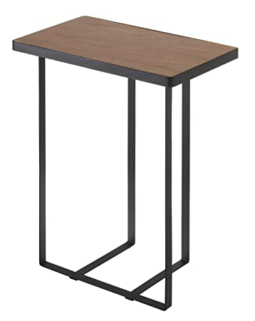 online store e762d f32d5 YAMAZAKI home Tower Side Table and Magazine Rack, Black