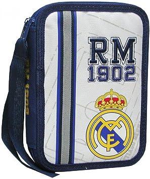 Real Madrid - Plumier de 2 Pisos pequeño (Escritura / Estuches): Amazon.es: Juguetes y juegos
