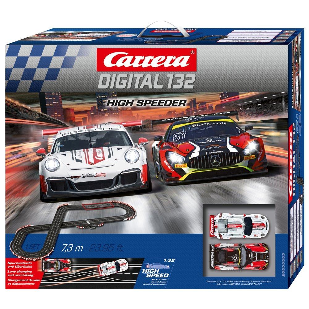 Carrera Digital 132 High Speeder 20030003 Car Racing Bah Set