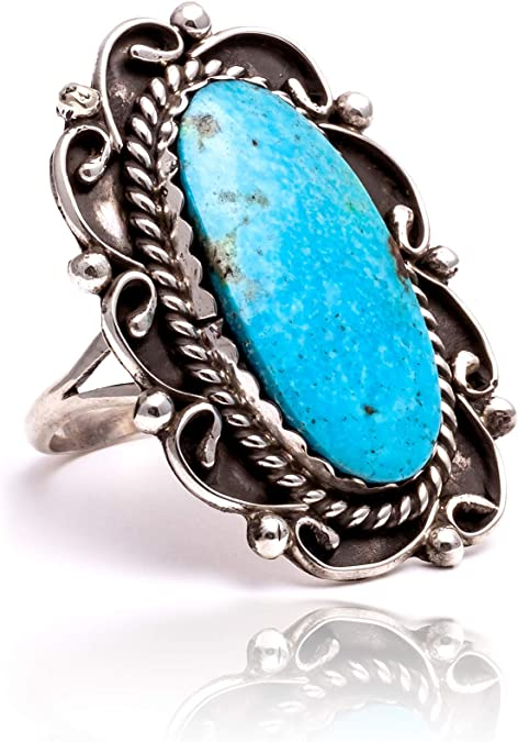 VULCANO ring #01 turquoise NEO ANTIQUE collection