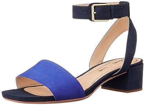 74ba2c708a8f Clarks Women s Orabella Rose Navy Combi NBK Leather Fashion Sandals-4 UK India  (