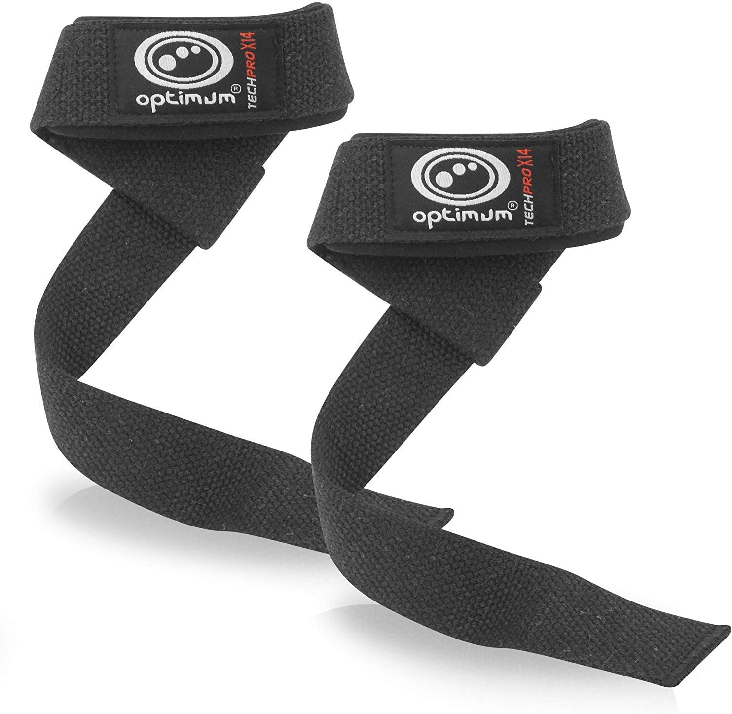 White//Black, Optimum Tech Pro X14 Knee Wraps