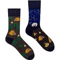 Spox Sox Casual Unisex - calcetines de algodón coloridos, ocasionales para individualistas - calcetines multicolores…