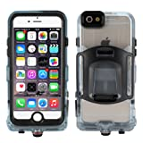 iPhone 6 / 6S Case, FugouSell Full Sealed IP68 Certified Waterproof Snowproof Dustproof Shockproof Heavy Duty Protection Underwater Case for iPhone 6 / 6S 4.7 Inch (Balck)