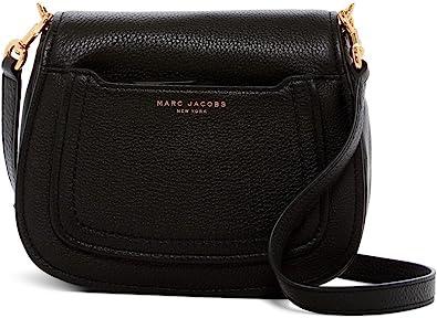 Marc Jacobs sac bandoulière mini messenger cuir souple noir ...