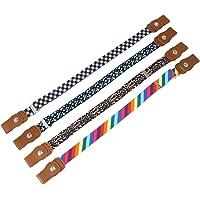 ifundom 4 Piezas Niños Cinturón Elástico para Niños Pequeños Cinturones Ajustables Elásticos sin Hebilla para Niñas…
